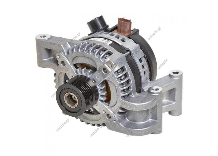 26676 DTS  Alternator FORD FOCUS 120A 49PV6 [S-SIG-FR] @  Denso Alternator DAN1016 Replaces 104210-5790 3M5T-10300-VD LRA02839   Volvo V50 S40 C30 Ford Focus 04-14 C-Max 07-11 - Denso Alternator 12V 150Amp