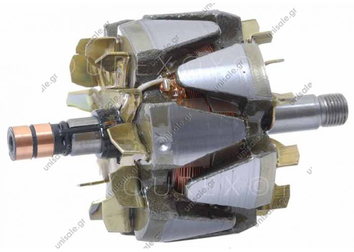 18689 BOSCH  Rotor BOSCH 140A 0124515...  12V - 120A Dimension	L.159 mm, O.D. 103 mm, Axel 17 mm   CROSS REFERENCE OEM	REFERENCE BOSCH	F00M131608 BOSCH	F00M131661 BOSCH	FOOM131608 BOSCH	FOOM131661 FIAT	9949374 VW (VOLKSWAGEN)	038903213A