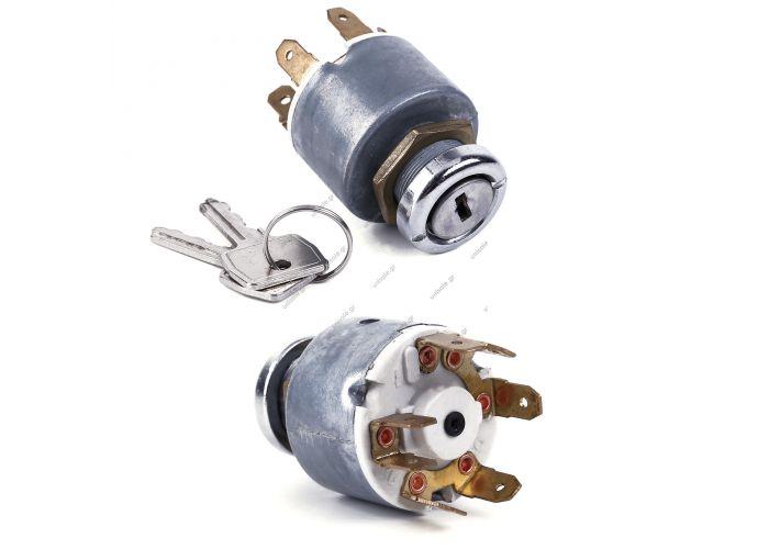 12V Universal Lock Ignition Starting + Key to Auto Moto
