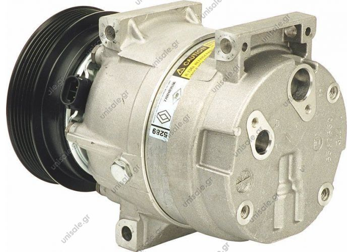 40420035 RENAULT Mégane II serie 1.4 16V 7700103536  TSP0155137 COMPRESSOR, AIR CONDITIONING   OE/OEM:	7700103536, 7701499859
