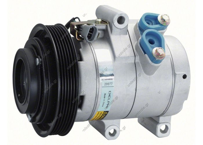 COMPRESSOR,NEW, DENSO HUMMER H3 3.7L 07-ON 10S17C