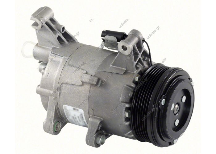 40420049  ΣΥΜΠΙΕΣΤΗΣ MINI   Mini Mini Cooper - One - S   Compressor Delphi (harrison) OEM  TSP0155308 Kompresor A/C Harrison CVC; 105mm; PV6; 12V; H; Mini Cooper; One      64521171310 / 64526918122   BMW : 64521171310 MINI : 64521171310, 64526918122