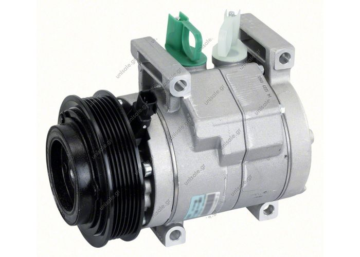 COMPRESSOR, NEW, HALLA, CHRYSLER JEEP GRAND CHEROKEE WK, V6 3.6L 09/10-ON RS18 6PK