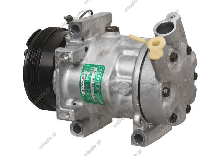 40405106 COMPRESSOR SANDEN    RENAULT Twingo 1.2 1427-1465-32253G-68101  OEM CODE (Manufacturer references)  RENAULT : 8200618853, 8200037058 SPECIFICATIONS  DIAM N GOR	TENSION	CULASSE PV4_112	12	VGG