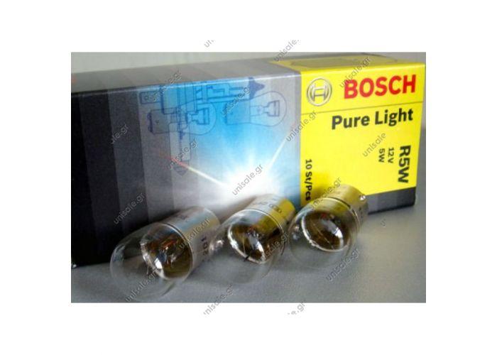 1987302204     BOSCH ΛΑΜΠΑ 12V 5W STANDARD R5W 12V 5W 1987302204 Bosch