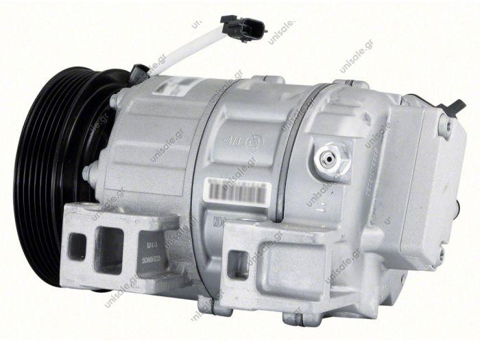 C09-9702G AIR CONDITIONING COMPRESSOR FOR NISSAN X-TRAIL   T31 2.5L QR25DE Petrol 2007-2014  COMPRESSOR, NISSAN X-TRAIL T31 ZEXEL DSC171C, 10/07- 4 CYL 2.5I 124MM 6PV, W/O ELEC. CONTROL VALVE