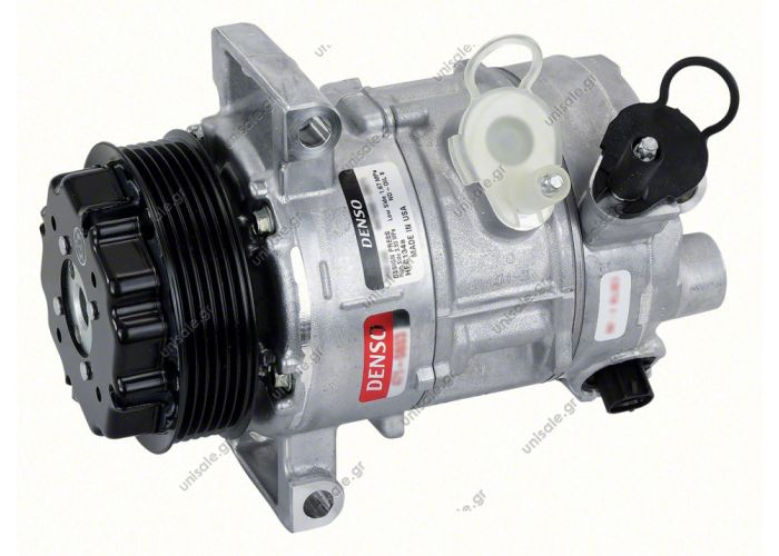 COMPRESSOR, JEEP COMPASS/PATRIOT, DODGE CALIBER 03/07-ON 4 CYL 2.4I-2.0TD, N-DENSO 5SE12C 110MM 6PV