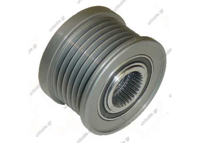 F22841104 INA   ΤΡΟΧΑΛΙΑ  ΑΛΤΕΝΕΙΤΟΡ   INA 535 0085 10   Bosch Clutch Pulley  Freewheel Clutch, alternator  Vauxhall / Opel / Saab CARGO	235874 BOSCH	0124525019 INA	F-228411 INA	F-228411.2 LUK	535003810 OPEL	97229366 SAAB	5340393  PART No.	637-ND