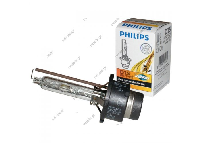 ΛΑΜΠΑ PHILIPS D2S XENON 85V 35W [PROJECTOR] VISION    D2S Philips Color Match 5000K  HID Bulb