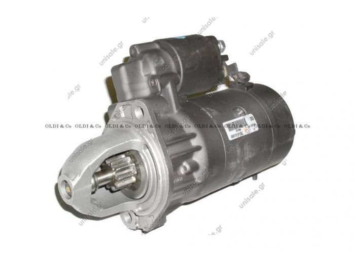Starter replaces Bosch: 0 001 218 760  Art. No. 4.67721 BOSCH 0 986 017 260 Starter Starter for Mercedes, VW MAHLE: MS121    BOSCH:0 001 109 036 - 0 986 016 390 - 0 001 109 290 - 0 001 218 162 - 0 986 014 680 - 0 986 478 550 - 0 986 017 260