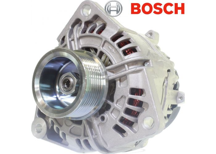 Original Bosch Alternator 24V 100A Daf Cf85 340 360 380 410 430 460 480 510 Far Fat Ftg Fts Ftt F  442865 0124655003 0986045500 0986046570 0124655003 0986046570 1377860 1377860