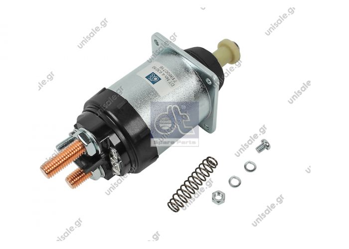 4.63010 DT Μαγνητικός διακόπτης, μίζα    solenoid switch replaces Bosch: 2 339 403 010  Art. No. 4.63010  MERCEDES 001 152 32 10 Relay, starter