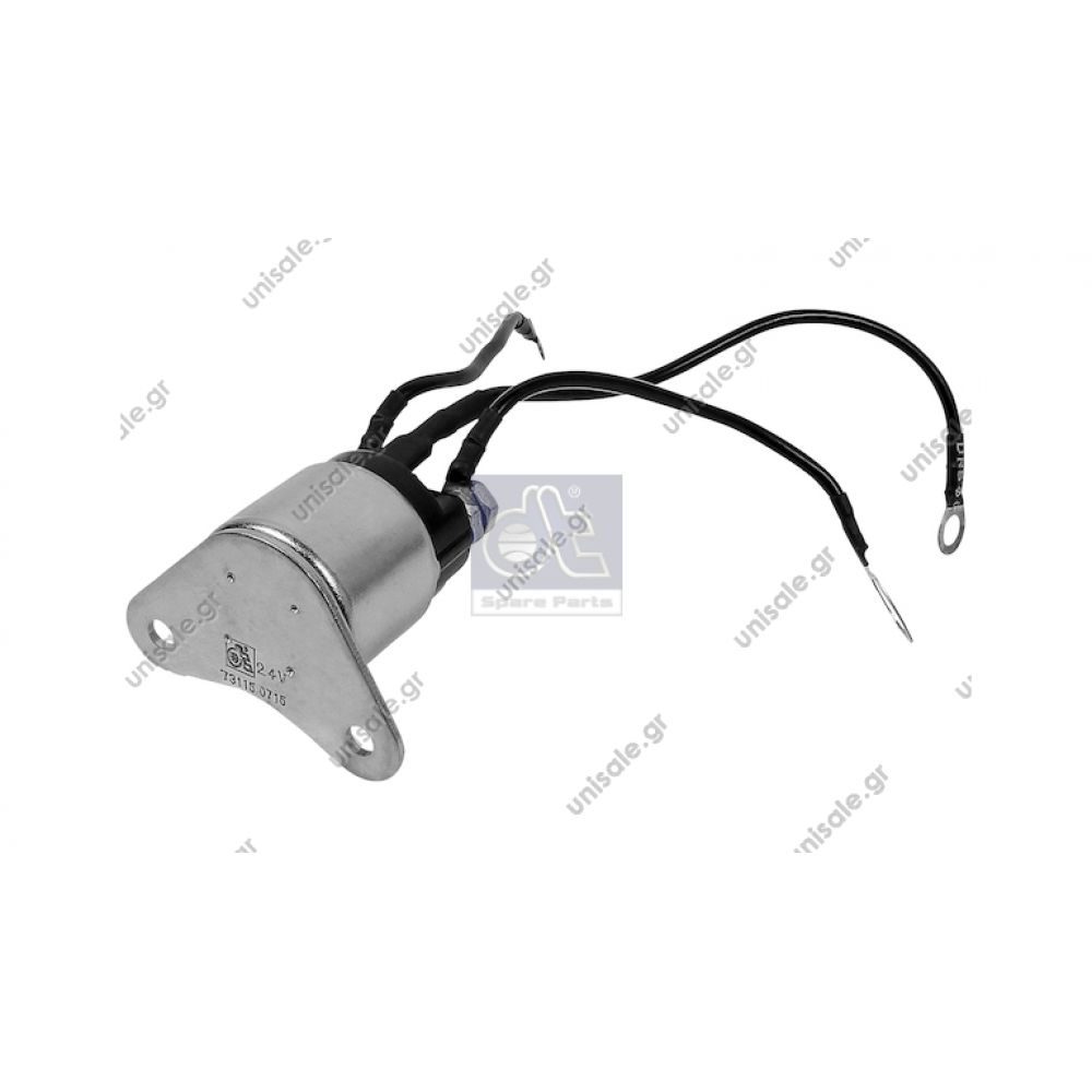 Solenoid Switch Replaces Bosch 1 337 210 726 Art No 463012 Start Dt Mercedes 001 152 24 10 Relay Repeater