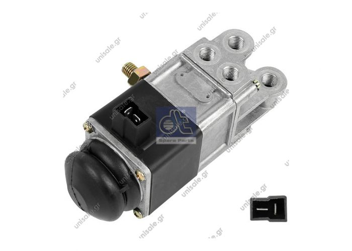 7.70175 DT Μαγνητική βαλβίδα    Solenoid valve replaces Wabco: 472 017 480 0  Art. No. 7.70175   Electromagnetic valve KNORR 481500102 TYPE: WABCO DOOR VALVE  472 017 480.0