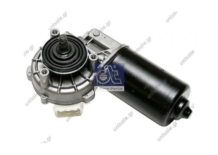 4.63606 DT Μοτέρ υαλοκαθαριστήρα 24V    Wiper motor replaces SWF: 404 233  Art. No. 4.63606  MERCEDES 005 820 2142 OE Number:0058202142   Wiper Motor SWF VALEO NIDEC ITT 404.233 wiper motor, windscreen wiper motor, gear motor