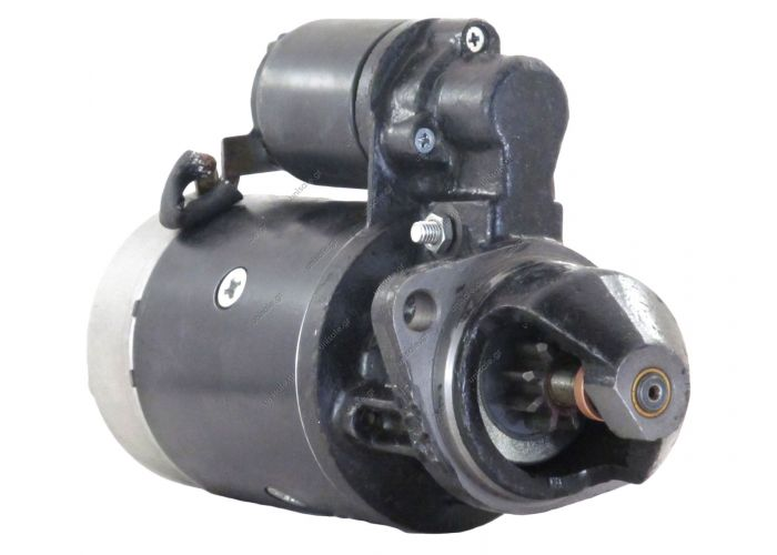 New 9T Starter Motor Fits Atlas Loader Ar40 42L411D 0-001-358-047 0-001-362-046  KHD F2L 081.382.046 STARTER NEW HOLLAND SKID STEER LOADER L451 & BOSCH 0-001-358-047, 0-001-362-046
