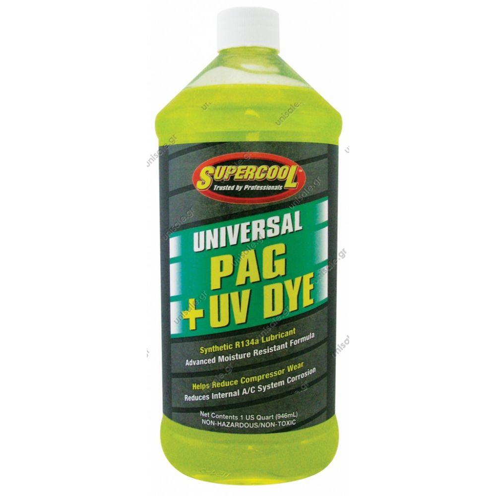 80813085 Oil PAG 100 + UV DYE Medium Viscosity 8 Oz  for R