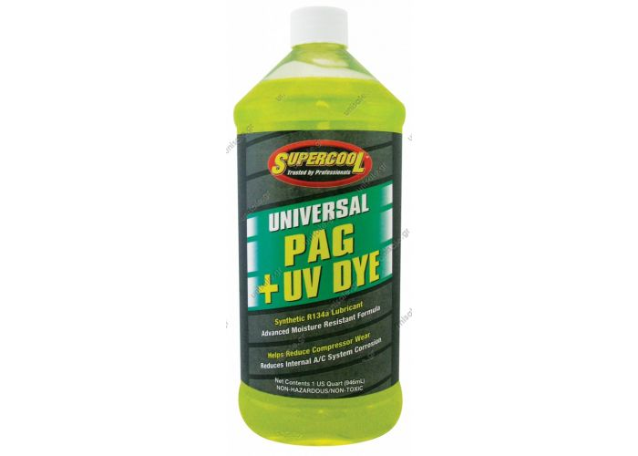 80813085 ΛΑΔΙ ΣΥΜΠΙΕΣΤΗ   Oil PAG 100 + UV DYE Medium Viscosity 8 Oz. for R-134a Systems.     Oil universal LR PAG + Dye (1 lt) COMPRESSOR OILS PAG 100  ISO 100 Medium Viscosity Oil for R134a Systems