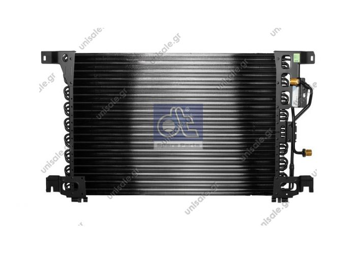 942 500 0054 (9425000054) ΚΟΝΤΕΝΣΕΡ   MERCEDES  BEHR HELLA SERVICE 8FC 351 300-131 Condenser, air conditioning HELLA 8FC 351 300-131 can be used in car models  MERCEDES ACTROS	1996-... ACTROS MP2 / MP3	2002-...