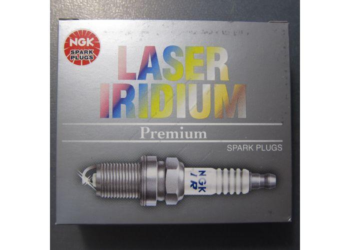 Μπουζί NGK Laser Platinum Premium PZFR6R 101905626 για 1.4TSI (4 NGK Laser Iridium Spark Plug for Audi A1 A3 VW Passat EOS