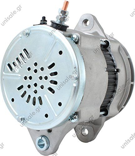 ΑΛΤΕΝΕΙΤΟΡ   Denso style 24v 95a IR/EF   24 volt, 95 amps Internal Regulator / External Fan Brushless alternator J-180 Mount R-terminal pin  Caterpillar 1779953, 177-9953, 1012118270, 101211-8270, 1012118271, 101211-8271, 12774, 290-447B