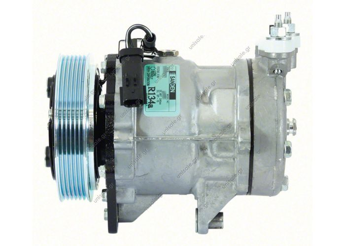 68576 (67576) COMPRESSOR NEW SANDEN  U4852   MAKE - MODEL CHRYSLER - JEEP CHEROKEE (3.7 V6) Compressor - SANDEN MODEL - 7H15 DIAMETER WHEELS - MM NUMBER PK - 55037466AC/55037466AE