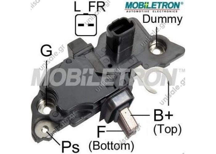 VR-B242 – MOBILETRON, Αυτόματος Δυναμού τύπου Bosch 14V Nissan, Opel, Renault    MOBILETRONVR-B242    ΑΥΤΟΜΑΤΟΣ   MOBILETRON   BOSCH: F-00M-141-381  BOSCHF00M144181, F00M145276, F00M145368, F00M145375, F00MA45237 CARGO236717TRANSPOIB276