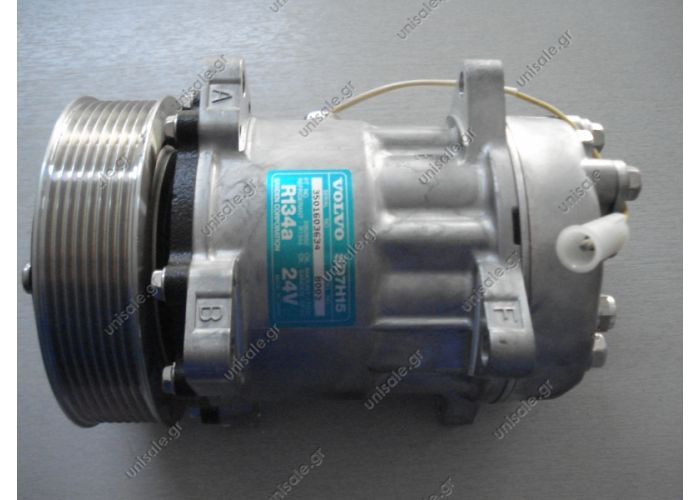 40405098 ΣΥΜΠΙΕΣΤΗΣ VOLVO FH12   ΚΟΜΠΡΕΣΕΡ SANDEN SD7H15     Compressor Sanden Fix R134a SD7H15    VOLVO FH12 OE: 3962650 - 8003 - 8113624  Other Applications ApplicationYear FH1208 93-> FH16 II Serie01 03->