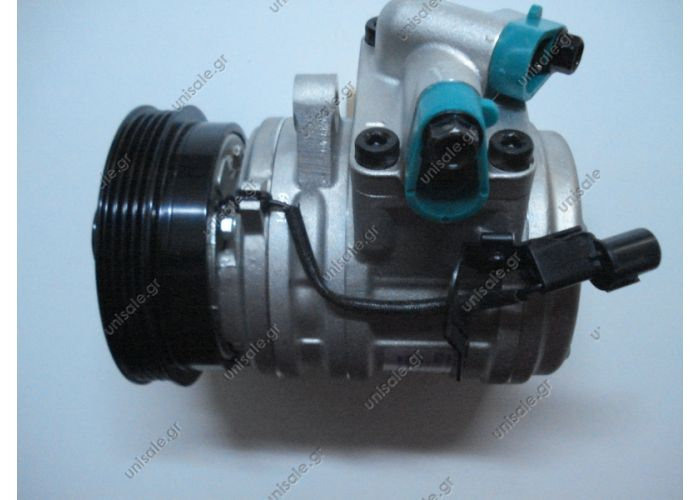 40440144  ΣΥΜΠΙΕΣΤΗΣ KIA PICANTO I   Compressors  Air Conditioning     KIA Picanto 1.0 / 1.1 Year: 04 04->OE 9770107100 - 9770107110  Compressor Type HCC HS-11    Number of grooves 4 Poly-V