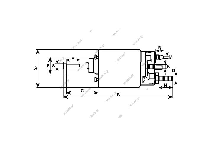232188 -  CARGO ΜΠΟΥΤΟΝ ΜΙΖΑΣ  BOSCH  ZM-1378  C232188  Replacing 2339304033	 BOSCH  2339304054 BOSCH