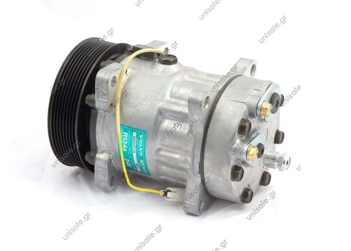 40405098CP ΣΥΜΠΙΕΣΤΗΣ VOLVO FH12   ΚΟΜΠΡΕΣΕΡ SANDEN SD7H15    Compressor Sanden Fix R134a SD7H15    VOLVO FH12 OE: 3962650 - 8003 - 8113624  Other Applications ApplicationYear FH1208 93-> FH16 II Serie01 03->