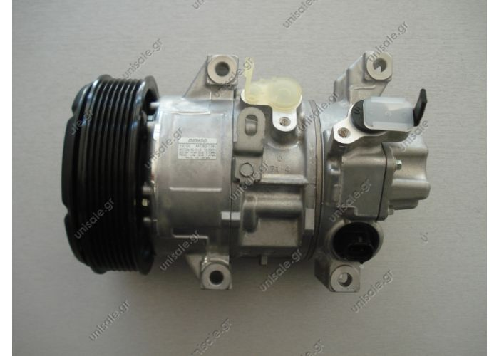 8831005090  ΣΥΜΠΙΕΣΤΗΣ TOYOTA AVENSIS DENSO 5SE12C DCP50121 DCP50124    COMPRESSOR TOYOTA MAKE - MODEL TOYOTA - AVENSIS (T25 DENSO DCP50121, Compressor, air conditioning