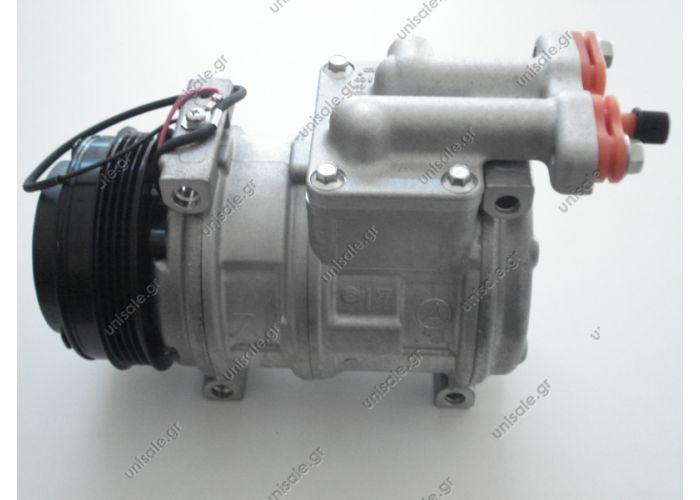 40440032 ΣΥΜΠΙΕΣΤΗΣ IVECO EUROSTAR, STRALIS, TRAKKER    Compressor  Denso    ND10 PA17 (99488569)     Model: ND10 PA17 | Poly clutch V 4 grooves | Diameter 115mm |    IVECO Stralis  OE: 500341617 - 500391499 - 504385146 - 99488569