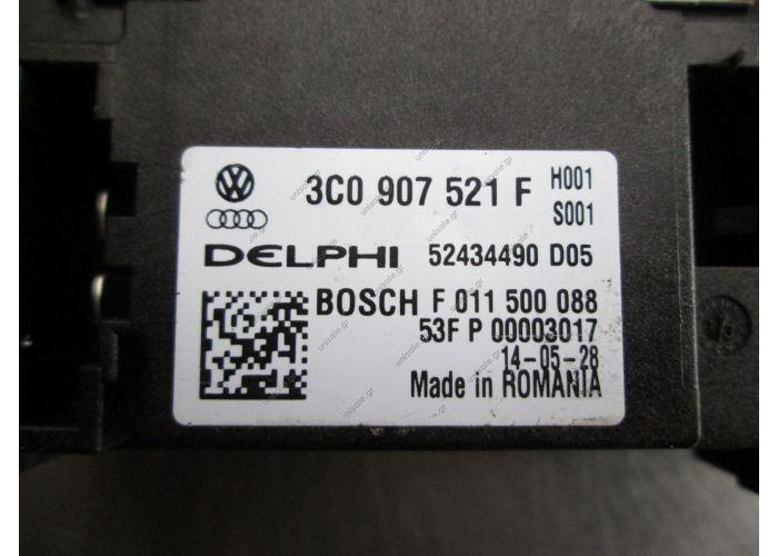 3C0907521F   ΑΝΤΙΣΤΑΣΗ ΚΑΛΟΡΙΦΕΡ   ΑΝΤΙΣΤΑΣΗ ΚΑΛΟΡΙΦΕΡ 3C0907521F SKODA OCTAVIA 5 2004 - 2008  AUDI Q3 - NEW A/C HEATER BLOWER FAN RESISTOR SPEED CONTROLLER 3C0907521F  Blower Motor Resistor Regulator 3C0907521F OEM Audi Q7 Typ 4L 2007-15
