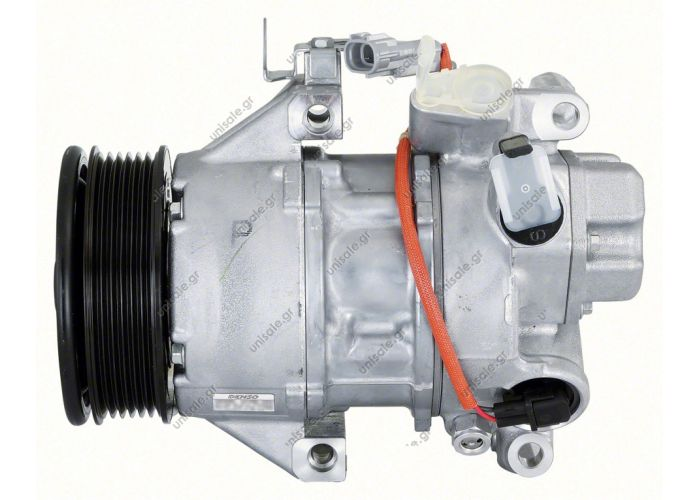 447260-1506  ΣΥΜΠΙΕΣΤΗΣ TOYOTA YARIS VVTI 1000cc 2006    ΚΟΜΠΡΕΣΕΡ AC DENSO TOYOTA YARIS   COMPRESSOR TOYOTA  88310-0D200   5SER09C  DENSO DCP50240    Description YARIS COMPRESSOR,NEW, N-DENSO TOYOTA YARIS 5SER09C 8/05 ON