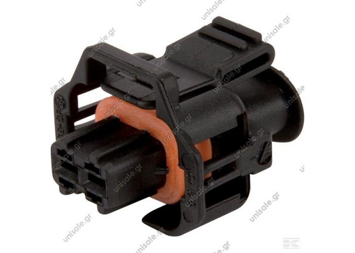1928403874 BOSCH   ΦΙΣΑ   Plug housing 2P. Fem. Bosch OE Diesel Fuel Injector Plug Connector Kit 1928403874