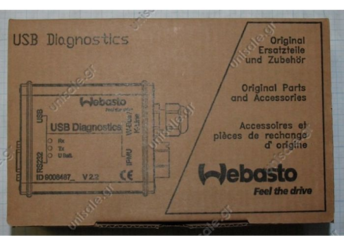 9009064A ΔΙΑΓΝΩΣΤΙΚΟ  Webasto Heater Diagnostic Interface Test Unit | 9009064d | 1320920A WEBASTO Webasto Thermo Test 2.15 (USB, COM) WEBASTO Thermo Top Z/C/E/P, Air Top 2000/S Air Top 3500/5000/ST, Air Top 2000 S   88336A BW 80 / DW 80
