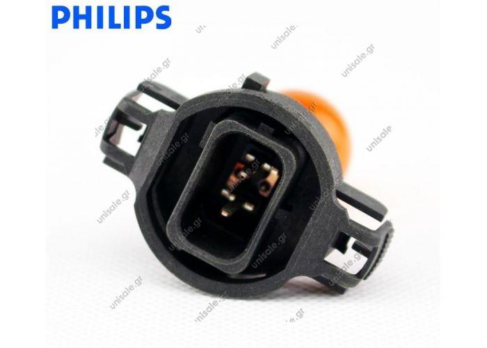 PHILIPS PSY24W ΚΙΤΡΙΝΗ   12V 24W  Philips PSY24W PG20-4 12188NAC1 12V 24W Amber Color Halogen Fog Turn Signal Bulb