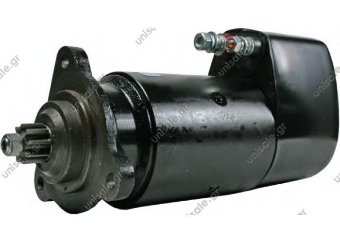 ΜΙΖΑ MAN 24V 6.6 KW 9T   NÜ NÜ 353 15M  Bosch starter 0001417037 / 0 001 417 037 . 860698GB Prestolite starter motor  Part No. : 0001417037 / 0 001 417 037,  2.OEM no.: 51.26201-7139,  3. Model: 24V, 6.6kw, 9T,     4. Application for MAN D2866L engine,