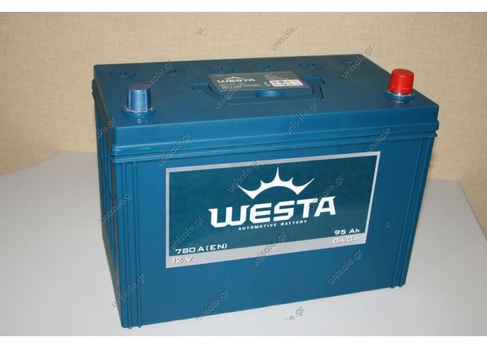 Μπαταρία Westa 60AH 600EN WESTA Car Battery LLC is one of five largest storage battery manufacturers in Europe and the largest in Ukraine.