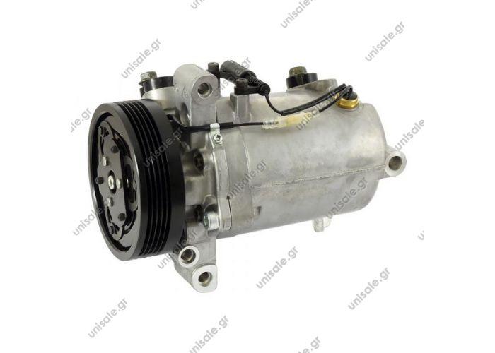 NRF 32414, ΣΥΜΠΙΕΣΤΗΣ  COMPRESSOR,NEW, SEIKO BMW 3-SERIES 316,318 4cyl E46 SEIKO SS120DL1    Compressor, air conditioning BMW 3 Convertible BMW-09-SS120DL1-PV5 Type: Seiko-Seiki SS120DL1  Clutch: PV5 Clutch diameter: 110 mm Volt: 12 V