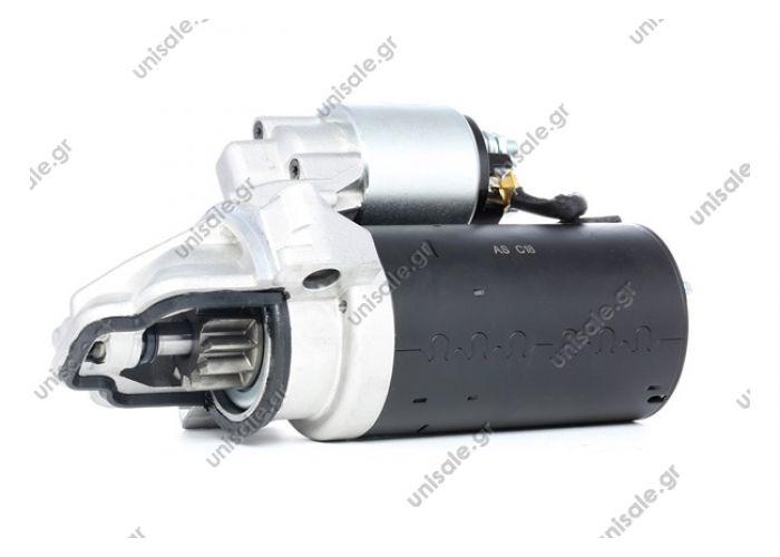 0001109205 BOSCH ΜΙΖΑ NEW STARTER MOTOR FOR FORD TRANSIT LAND ROVER DEFENDER CITROEN PEUGEOT 2.2/2.4TD
