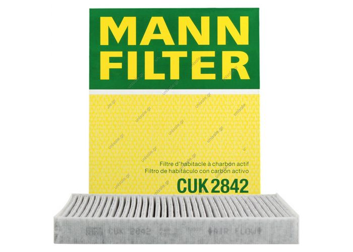 Φίλτρο Καμπίνας (A/C) Mann 7H0819631 Genuine Cabin Air Filter MANN CUK 2842