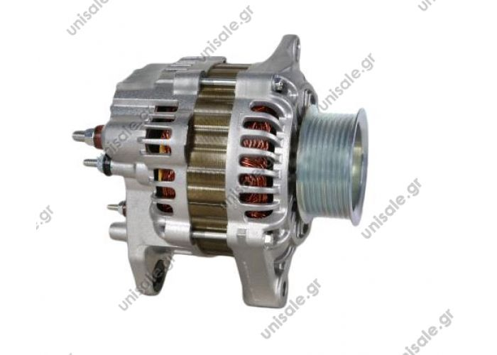 A3TA8991  ΔΥΝΑΜΟ  24V 80A  FORD OTOSAN  FORD	6C4610300AA       ALTERNATOR MITSUBISHI TYPE 28V / 80A - FORD,OTOSAN Alternator Renault 80A Item number A003TA8991