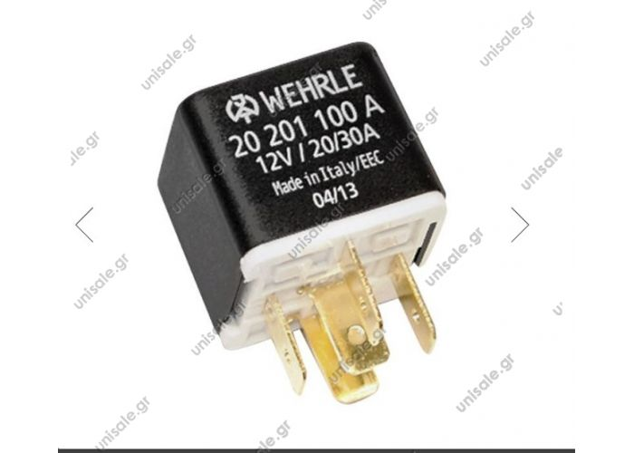 20201100A | Ρελέ 5 Επαφών 12 Volt - 20/30Amp (87/87α)_Wehrle® 20 201 100A  WEHRLE  0332209151    Porsche Headlight Motor Relay - 92861511600 - Wehrle 20 201 100A For 928
