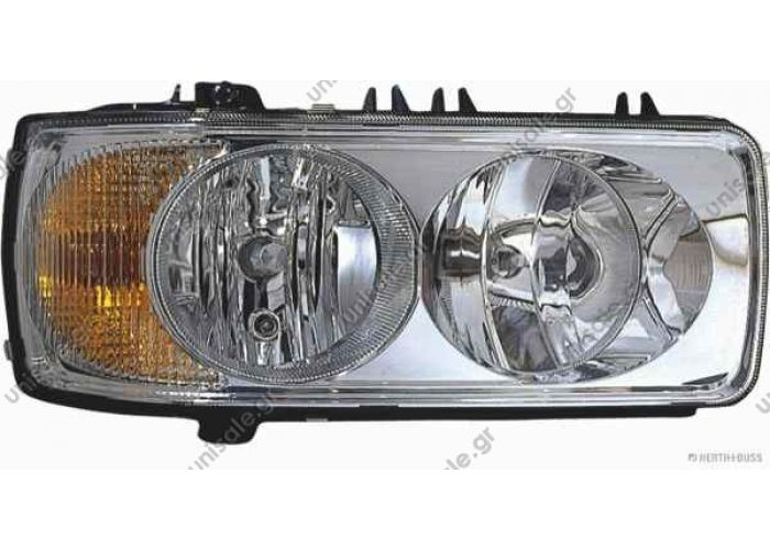 ΦΑΝΟΣ ΕΜΠΡΟΣΘΙΟΣ DAF CF65 CF75 CF85 XF95 XF105 1EJ 247046-031 Hella Headlight DAF CF / XF Links     Hella Headlight DAF CF 65/75/85 XF 95/105 links  OE numbers: 1699300 1641742 1743684 1399902