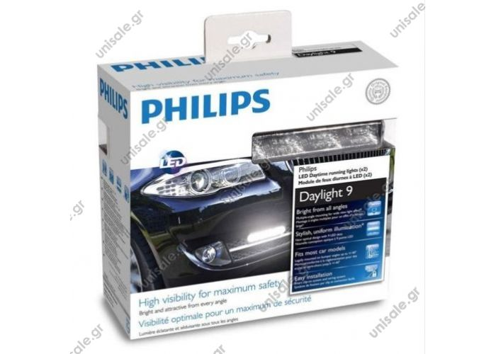 PHILIPS 12V 6W DayLight 9 LED