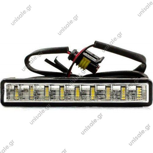 ΦΩΤΑ ΗΜΕΡΑΣ PHILIPS 12V 6W DayLight 9 LED  DayLight 9 LED Daytime running lights 12831WLEDX1   Philips