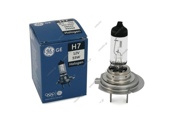 GE H7 12V 55W 58520 GENERAL ELECTRIC  ΛΑΜΠΑ Η7 12V 55W