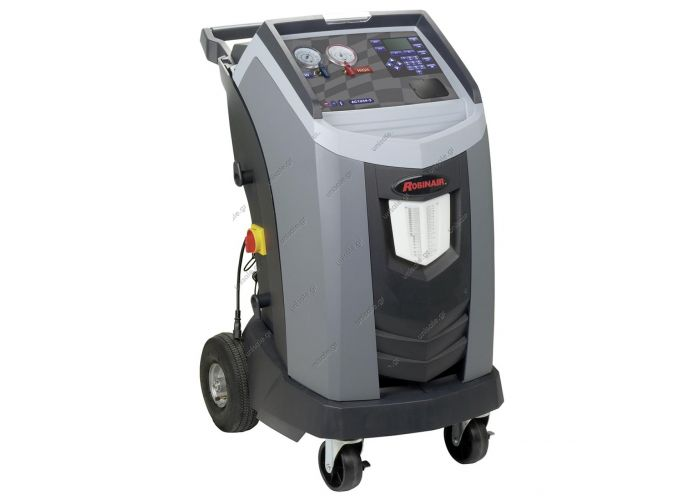 4-IN-1 STATION, ROBINAIR, AC1234-3, R1234YF, VACUUM-CHARGE-RECOVER-RECYCLE, WITH PRINTER